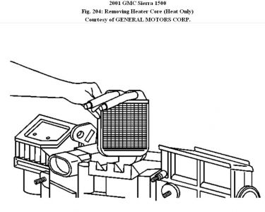 2004 gmc sierra audio wiring diagram gmc sierra heater core diagram