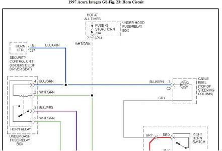 I M Yahica Acura Integra Horn Wiring Diagram