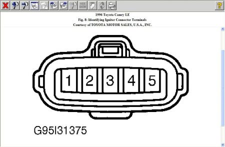 192750_IgniterTerminal96Camry_1 wiring diagram for a 1999 toyota camry the wiring diagram Toyota T100 Parts Diagram at bayanpartner.co