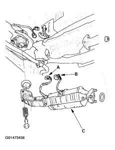 Volvo Ect Sensor likewise Mazda Exhaust Manifold Location as well T16874253 O2 sensors bank1 or bank 2 gmc sierra further Scion 2005 Thermostat Location likewise Cadillac Deville Engine Diagram. on honda cr v o2 sensor locations