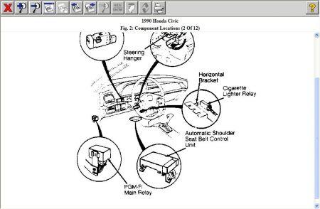 Pgmfirelay Civic on 1990 Acura Integra Electrical Diagram