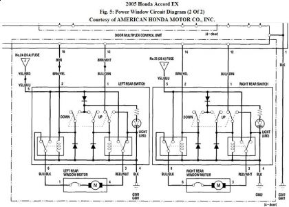 2004 Sccord Power Window Wiring Diagram from www.2carpros.com