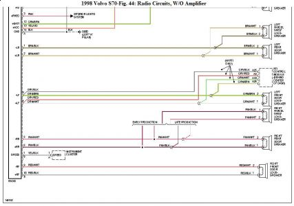 192750_Radio98VolvoS70a2_1 1998 volvo s70 1998 volvo s70 wiring diagram? electrical problem 98 volvo s70 radio wiring diagram at readyjetset.co