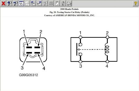 192750_RelayTestPrelude_1 relay 4 pin wiring diagram wiring diagram and schematic design 4 wire relay wiring diagram at bakdesigns.co