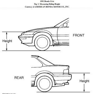 96 Honda Civic 4 Door