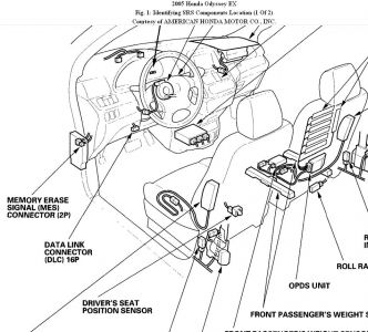 Honda Pilot Air Bag Sensor Location on 2008 honda crv fuse box location