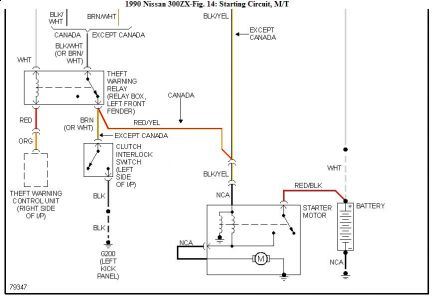 90 300zx Wiring Diagram - Wiring Diagram Article on