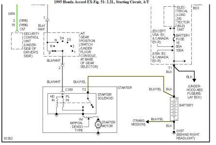 1995 honda accord engine wont turn over with key fuel system wiring diagram for 1992 honda accord #9