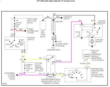 1992 Pontiac Firebird Wiring Diagram besides Discussion T27406 ds794573 additionally 1997 Oldsmobile 88 Wiring Diagram further Ford 460 Cooling System further Gm Fuel Level Sensor Replacement. on ac wiring diagram 2001 lesabre