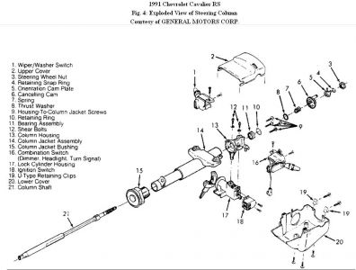 Steeringcolumn Cavalierfig on 2000 Chevy Cavalier Z24 Wiring Diagram