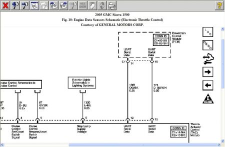 2005 GMC Sierra Throttle by Wire Diagram: Electrical ...