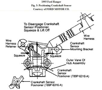 1993 ford ranger engine 2.3l 4-cylinder