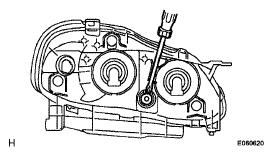 2007 Toyota Corolla Headlight Adjustment