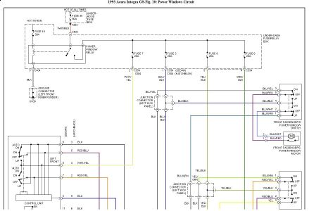 93 integra wiring diagram 1993 acura integra power windows: electrical problem 1993 ... #14
