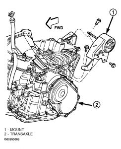 Grafic on Dodge Neon Engine Mount Diagram
