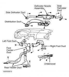 Grafic on 2001 Mitsubishi Galant Climate Control