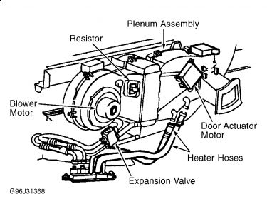 Ford Expedition 2000 Ford Expedition Rear Heater Core on fuse box diagram 2004 ford explorer