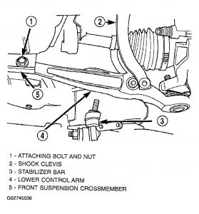 Chrysler Sebring 2002 Chrysler Sebring Removing Lower Control Arm Drivers on wiring diagram for dodge dakota