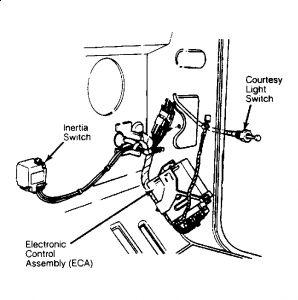 2000 Cougar Fuel Pump Fuse