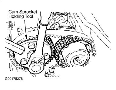 1999    Ford    Contour Camshaft  Are the Camshaft Sprockets Held on