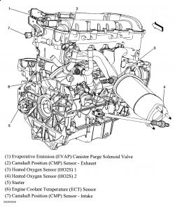 2006 Pontiac G6 2006 Pontiac G6 Intermittent Ac And Themostat Gauge on oldsmobile engine diagram