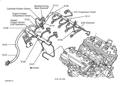 1999 Chrysler 300m Thermostat Location