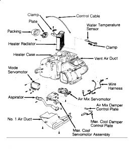1991 Lexus LS 400 How to Replace a Heater Core