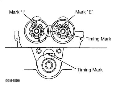 1999 mazda protege replaceing head crank seal and timing be