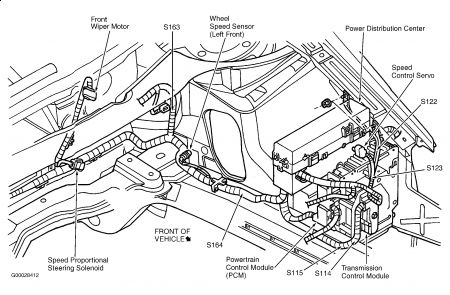 Graphic on 2007 Chrysler 300m P0700