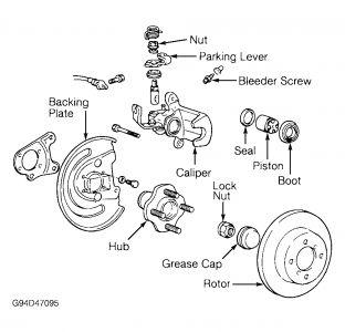 Perfect Hyundai: 2004 Hyundai Sonata Brakes   Hyundai Brakes Diagram      Perfect Hyundai