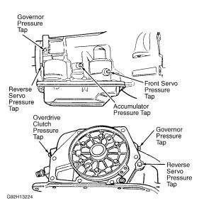 97 Dodge Ram 2500 Transmission Diagram