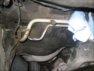 1992 Oldsmobile Cutlass Locate The A C Drain Hole
