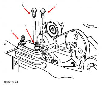 on 1998 Buick Lesabre Belt Diagram
