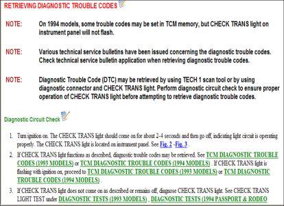 1994 Isuzu Trooper Transmission Not Shifting Automatically