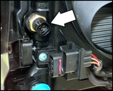 2001 Volkswagen Jetta Cooling Fan Thermo Thermal Switch