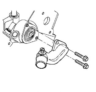 Chevy Cobalt 2 Thermostat Location