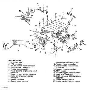 1996 dodge avenger where is the fuel pressure regulator rh 2carpros com Walbro Wip-22 Diagram Fuel System Diagram