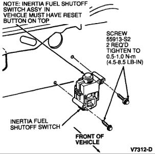 Tempo Fuel Relay Switch Location