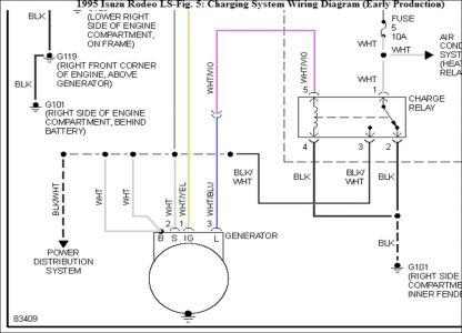 isuzu rodeo alternator wiring diagram isuzu rodeo alternator wiring 1995 isuzu rodeo question alternator plug: electrical ...