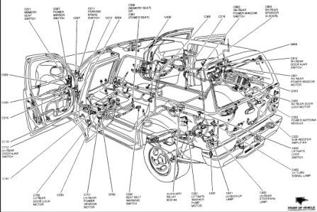 2002 Ford Explorer Wiring Diagrams