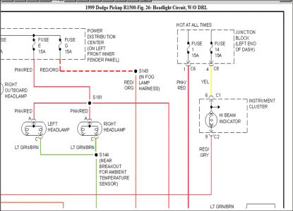 starter wiring schematic for 99 dodge ram wiring diagram for 1997 dodge ram 3500 headlight wiring diagram: i am looking for a wiring ...