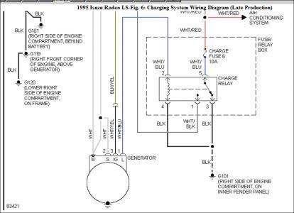 1999 isuzu rodeo alternator wiring diagram 1995 isuzu rodeo question alternator plug: electrical ... isuzu rodeo alternator wiring
