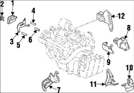 2001 buick lesabre motor mount diagram enthusiast wiring diagrams u2022 rh rasalibre co