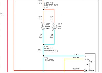 headlight wiring diagram i am looking for a wiring diagram for 2012 Dodge Trailer Wiring Diagram www 2carpros com forum automotive_pictures 248015_9_8