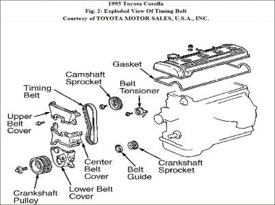 [DIAGRAM_5LK]  1995 Toyota Corolla Timing Belt: Is the Toyota 1.6L L4 FI Engine ... | 1997 Toyota Corolla Engine Diagram |  | 2CarPros