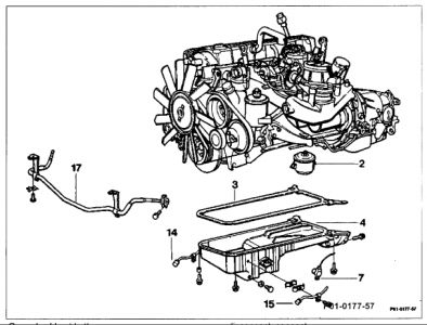2013 mercedes benz c300 engine diagram 1989 mercedes benz 300e replacing oil pump: engine ...
