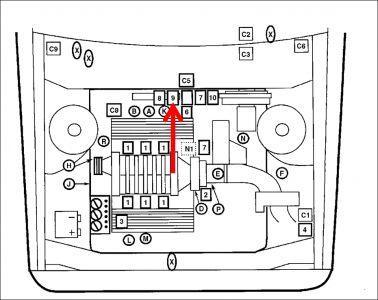 2004 pontiac sunfire horn fuse repair where is the. Black Bedroom Furniture Sets. Home Design Ideas