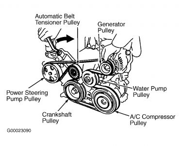 2004 Toyota Camry Serpentine Belt Diagram