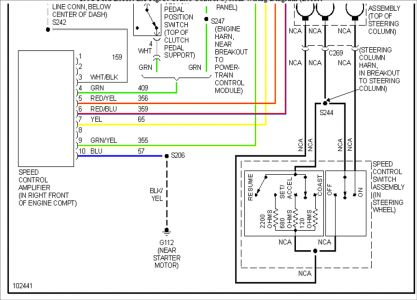 248015_Wiring_2_2 turn on the cruise control the speedometer quit working 1997 Ford Explorer Radio Wiring Diagram at gsmx.co