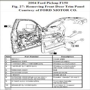 Ford F 150 2004 Ford F150 Side Mirror Replacement on 2000 ford f 150 wiring diagram